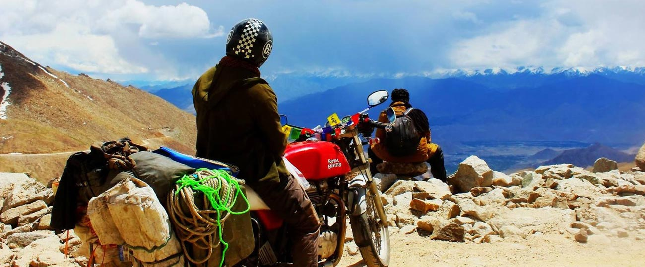Leh Ladakh tour packages on bike
