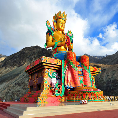 Buddhism in Leh Ladakh
